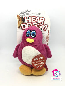 Hear Doggy Ultrasonic Toy - Pink Penguin