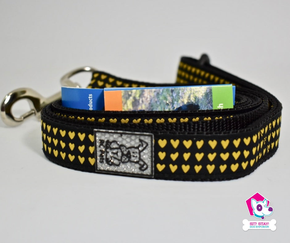 Heart of Gold Leash