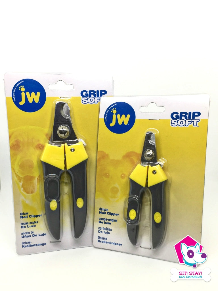 JW Grip Soft - Deluxe Nail Clipper