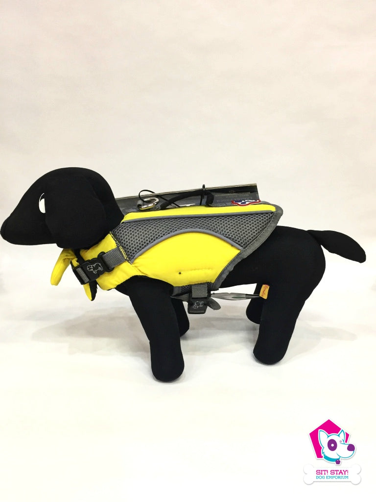Wave Rider Super-float Dog Life Vest - Yellow