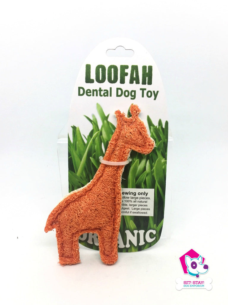 Loofah - Dental Toy Giraffe