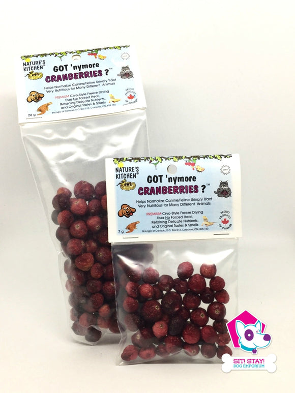 Got 'Nymore Cranberries?