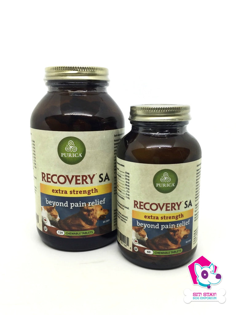 Purica Recovery SA -  Extra Strength - Beyond Pain Relief Tablets (120)
