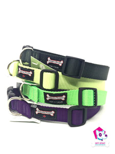 "Smoochy Poochy Adjustable Nylon 1"" Collar - LARGE"