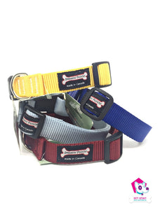 "Smoochy Poochy Adjustable Nylon 1"" Collar - MEDIUM"