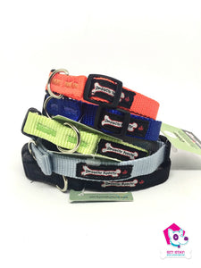 "Smoochy Poochy Adjustable Nylon 5/8"" Collar - SMALL"