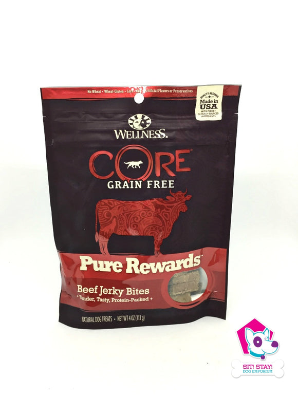 DISCONTINUED - Wellness Grain Free Pure Rewards Beef Jerky Bites