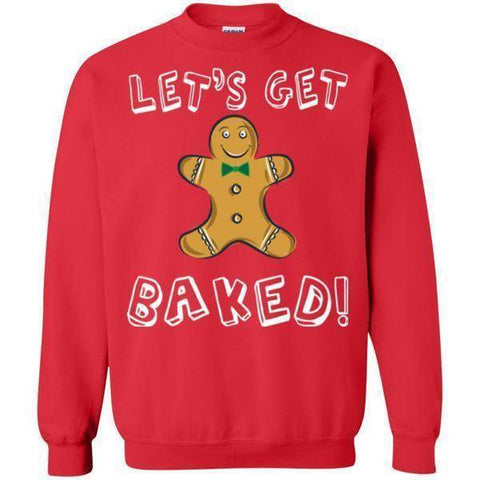 Baked Christmas Sweater-Sweatshirts-Drunken Palm Island Outfitters