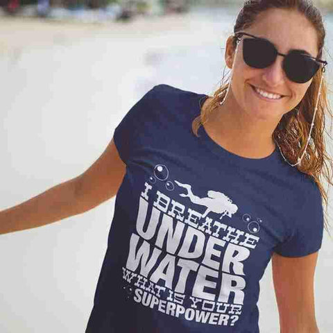 I Breathe Underwater-T-Shirt-Drunken Palm Island Outfitters