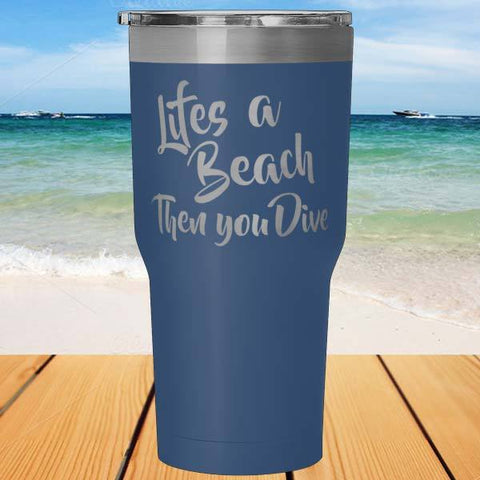 Scuba Diving Tumbler-Tumblers-Drunken Palm Island Outfitters