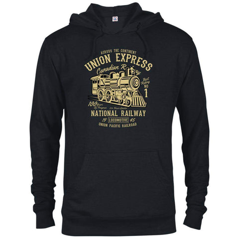 Union Express Men's Hoodie-Hoodie-Drunken Palm Island Outfitters