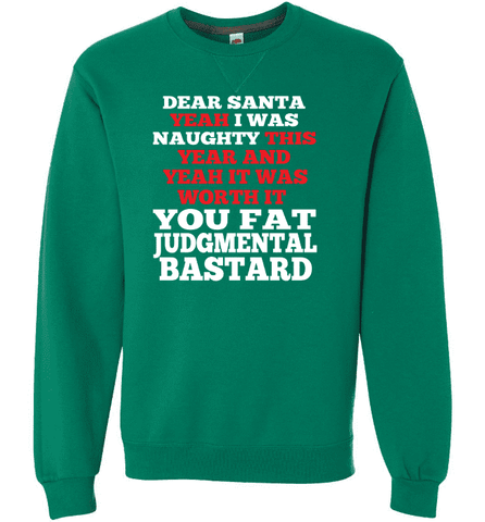You Judgmental Bastard-Sweatshirts-Drunken Palm Island Outfitters