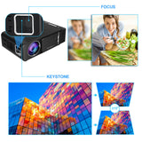 VIVICINE V200H Handheld Home Video Projector,Option Android 10.0 Movie Game Proyector beamer