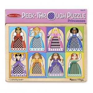 Melissa and Doug Princess Peek-through Puzzle
