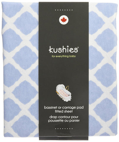 Kushies bassinet or carriage sheet
