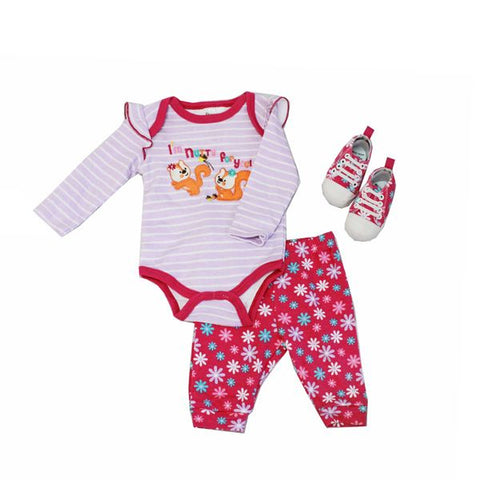 Baby Mode 3 piece sneaker set - Nutty for You