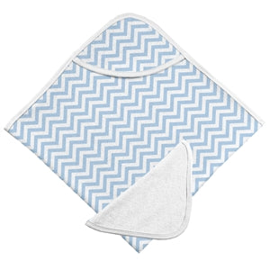 Kushies hooded towel with washcloth