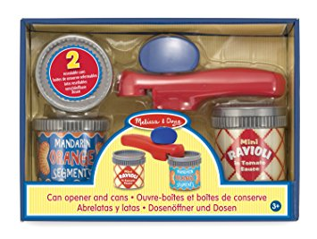 Melissa and Doug Can opener and cans