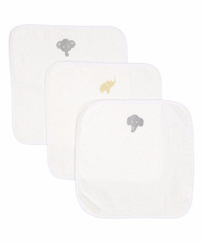 Boker and Laila 3 pack wash cloths