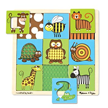 Melissa and Doug Peek through animal puzzle