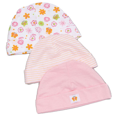 Baby Mode infant hats - 3 pk