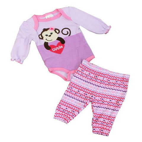 Baby Mode 2 piece set - Cute Monkey