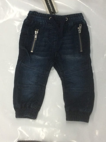 Badaboom infant boy's denim jean