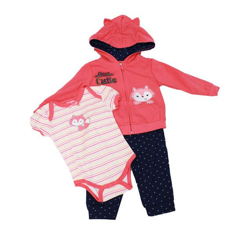 Baby Mode girl's 3 piece set - Little Cutie