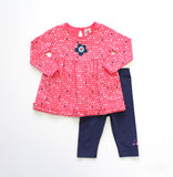 Globaltex Kids Minibamba girl's 2 piece set 12-24 months