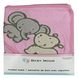 Baby Mode hooded towel
