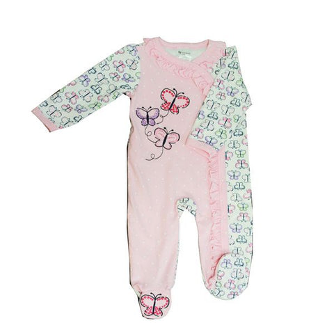 Baby Mode sleeper - pink butterflies