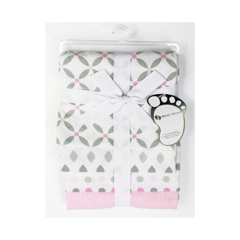 Baby Mode 4 pack receiving blankets