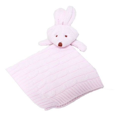 Baby Mode knit security blanket