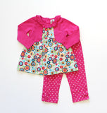 Globaltex Minibamba girl's 2 piece set 2-4T