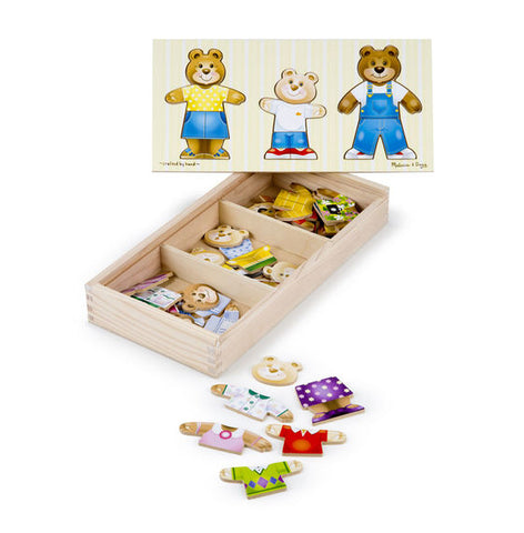 Melissa and Doug Bear Dressup Puzzle