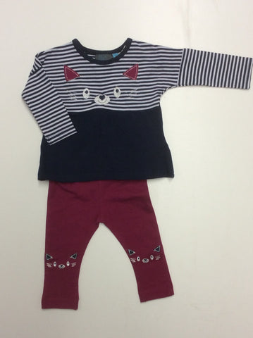 Badaboom 2 piece girl's set