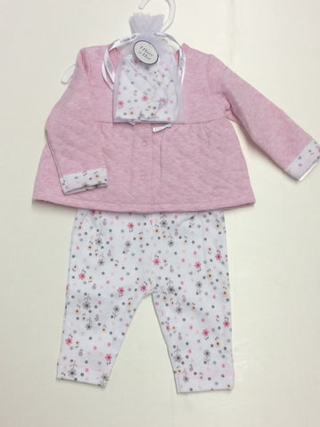 Vitamins Baby girl's 3 piece set