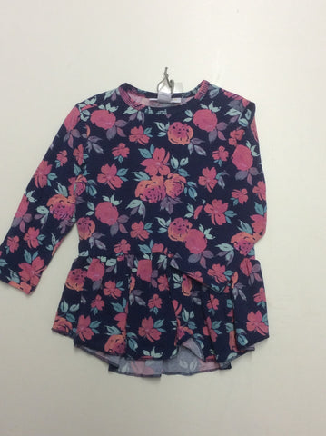 Rococo infant girl's top