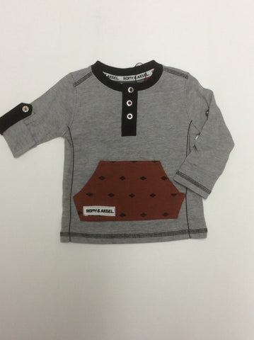 Romy and Aksel infant boy's top