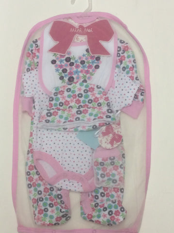Rock a Bye Baby 5 piece set in mesh bag
