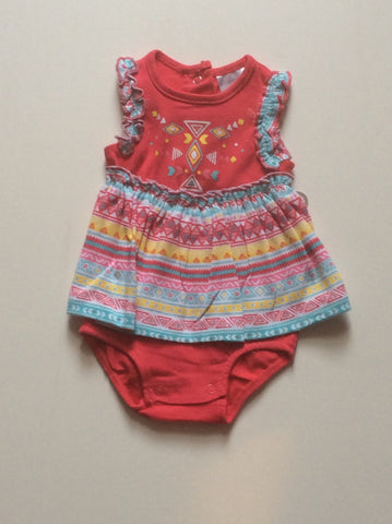 Baby Mode infant girl's romper