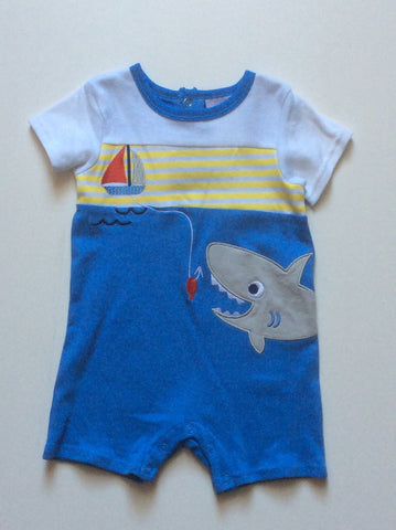 Baby Mode infant boy's short romper