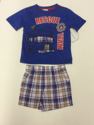 Baby Mode infant boy's short set