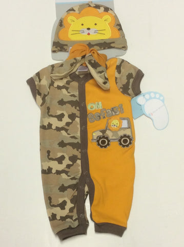Baby Mode infant boy's jumpsuit