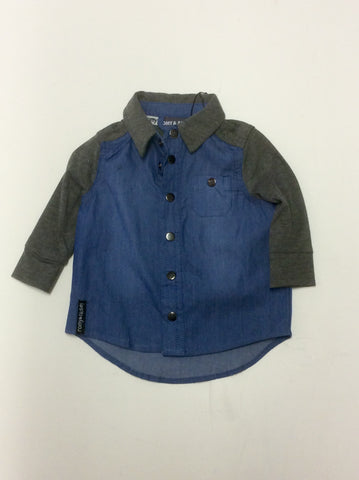 Romy and Aksel infant boy's shirt