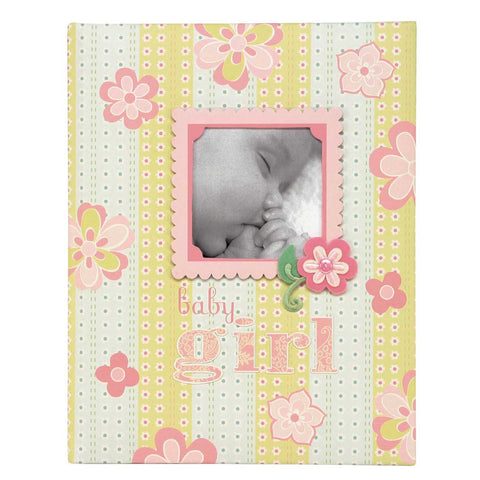 CR Gibson Anna Griffin Lulu baby record book