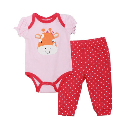 Baby Mode infant girl's 2 piece set