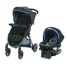 Graco Fast Action Fold travel system with Snugride 35 car seat