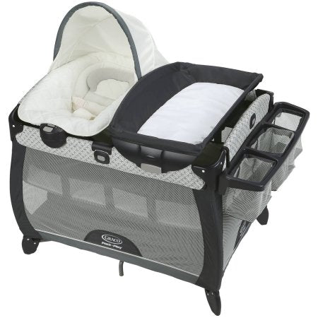 Graco quick connect portable lounger deluxe with bassinet - McKinley