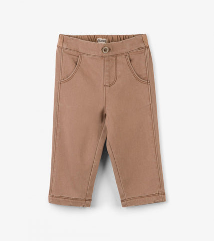 Hatley infant boy's khaki pant